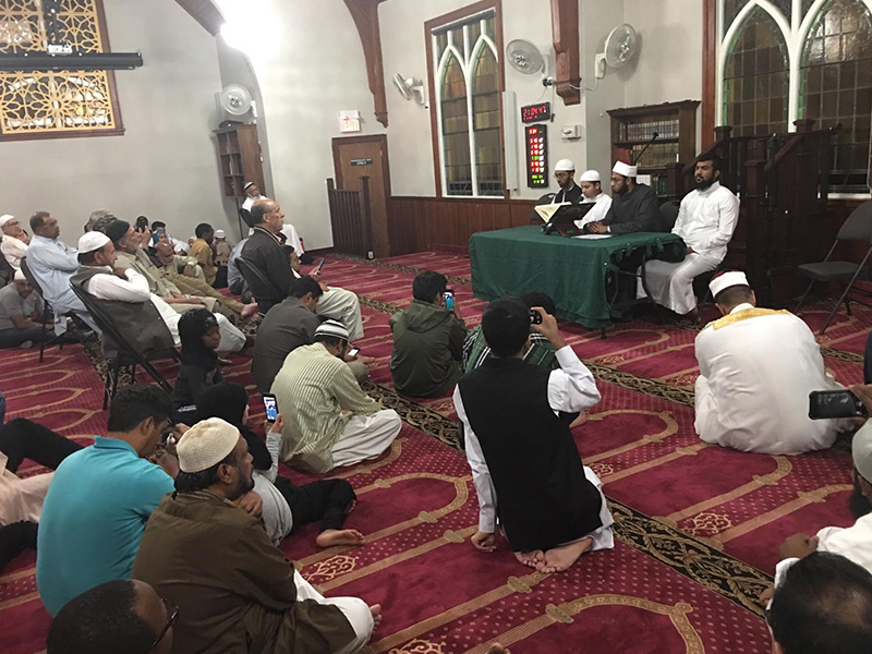 Workshops for teaching the noble Qur'an to adults